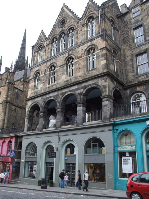 Shop on Victoria Street, Edinburgh