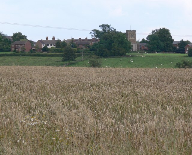 A view of Illston on the Hill