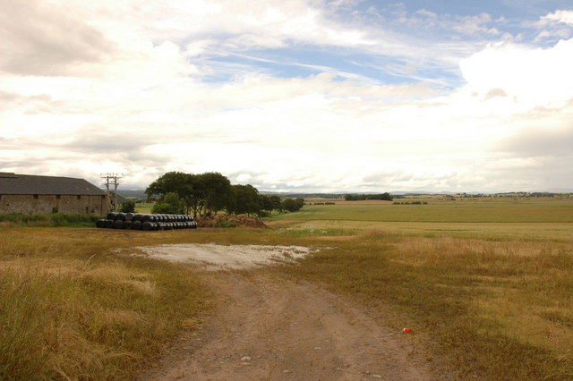 Farm and fields