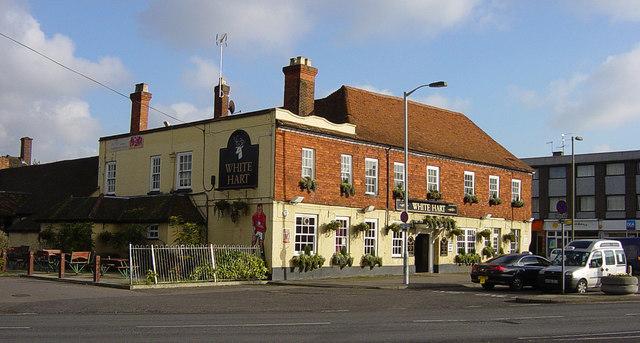 White Hart pub, Frimley