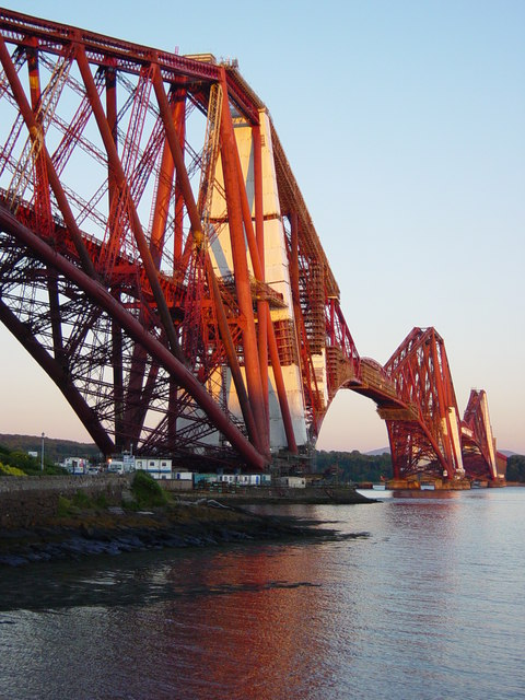 Forth Railway Bridge from the north
