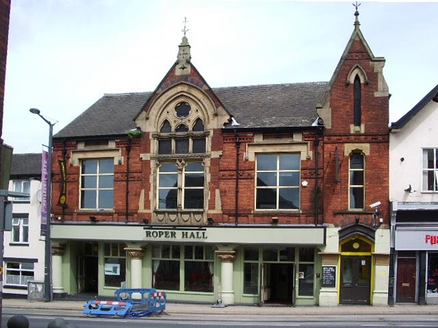 """""""Roper Hall"""" Friargate, Preston"""