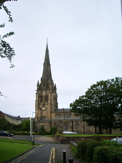 The Minster of St John the Evangelist, Preston