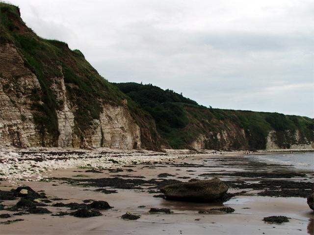 Dane's Dyke from the beach