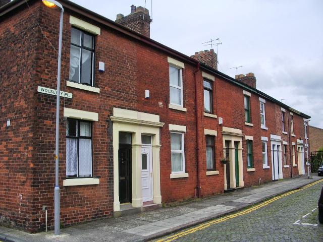 Wolseley Place, Preston