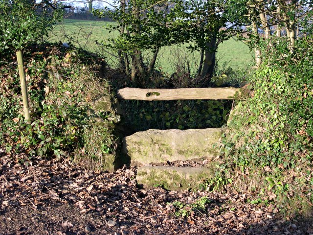 Stile at the end of the footpath