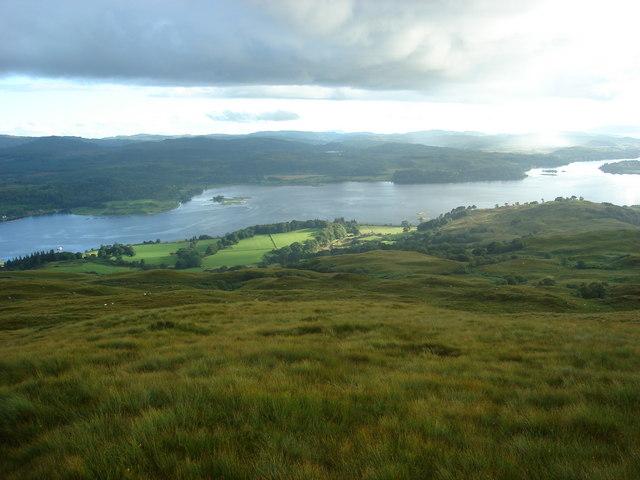 Hillside above Ardachy, north of Loch Etive