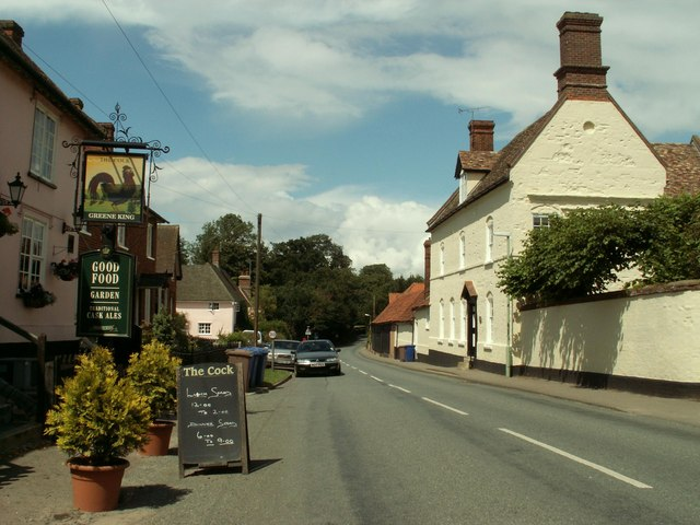 The village of Little Thurlow