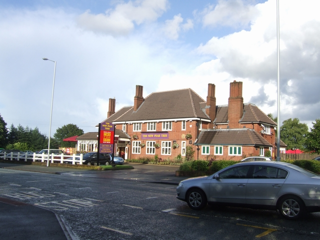 New Pear Tree Inn, Cannock Road