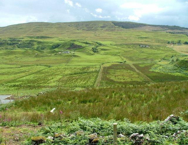 Croftland in Glen Uig
