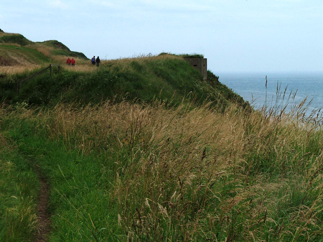 Pillbox near Beacon Hill