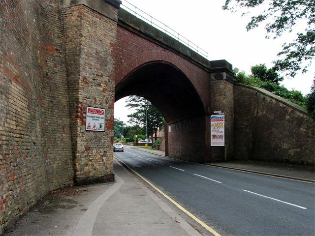 Railway bridge in Sewerby