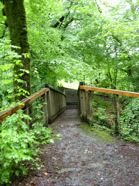 Bridge at start of Torrent Walk