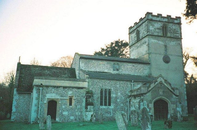 Gussage St. Michael: parish church of St. Michael