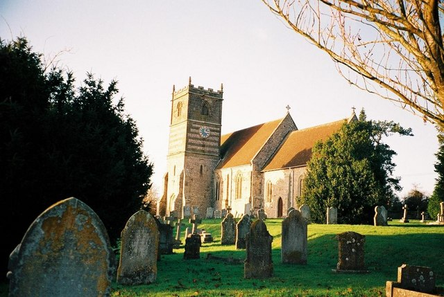 Gussage All Saints: parish church of All Saints