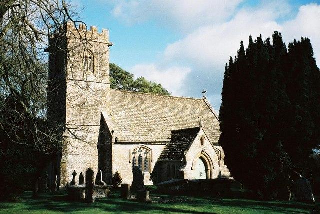 Halstock: parish church of St. Juthware and St. Mary