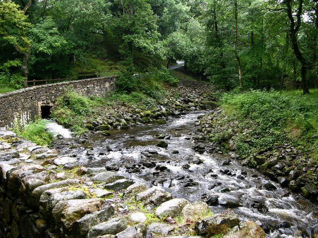 Bridge over Afon Melau