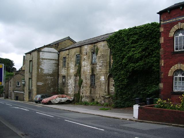 Old mill on Gisburn Road, Barrowford