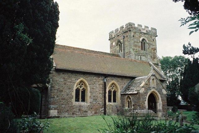 Hampreston: parish church of All Saints