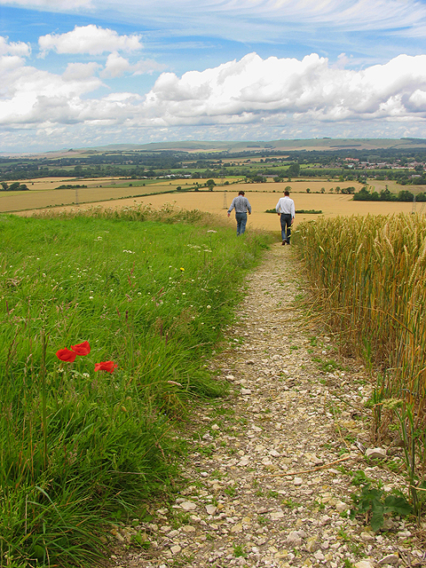 Footpath access to Pewsey White Horse