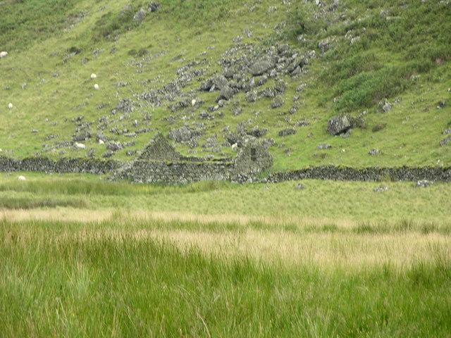 Ruins of Hafotty-y-benglog