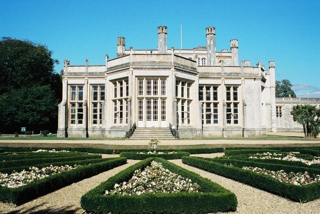 Highcliffe Castle: southern end