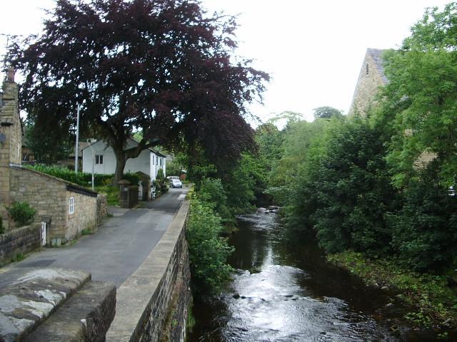 Pendle Water, Higherford, Barrowford