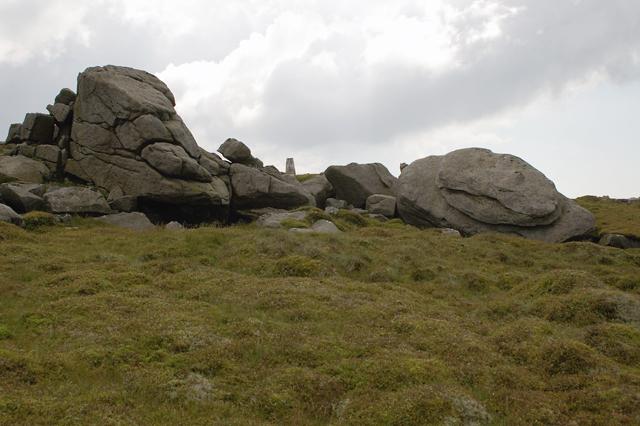 Ward's Stone and Trig Pillar