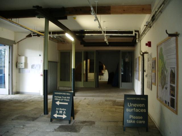 Interior, Higherford Mill, Barrowford
