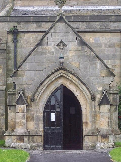 All Saints Church, Rudston - Porch