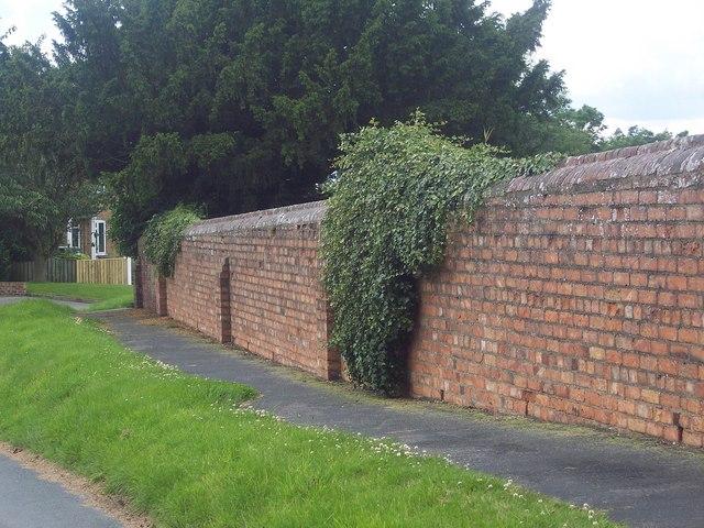 Churchyard Wall, Rudston