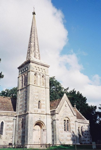 Hinton Parva: parish church of St. Kenelm