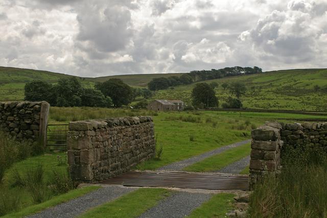Gate to Gilberton Farm