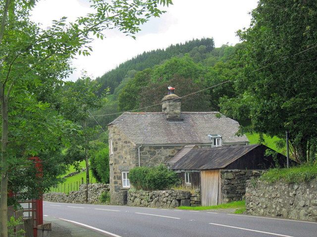 The Old Toll Gate House at Pont Fronwydd