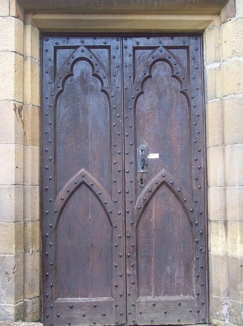 St Andrews Church, Boynton - Door