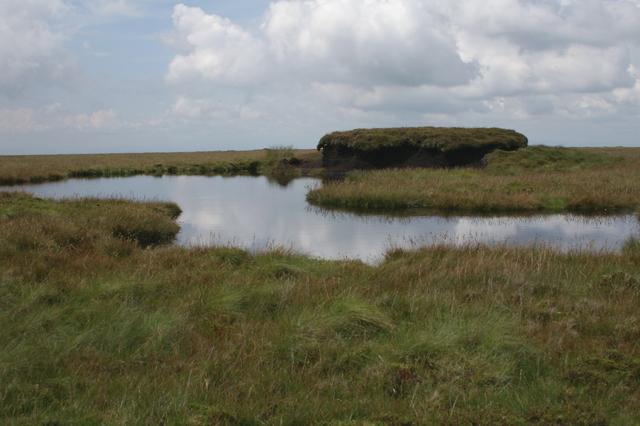 Tarn on Ward's Stone Plateau