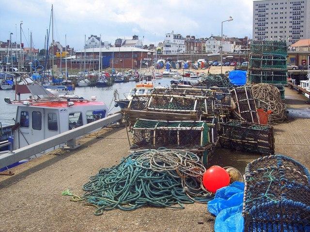 Lobster Pots, Bridlington