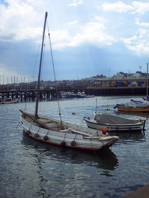 Boat in Bridlington Harbour