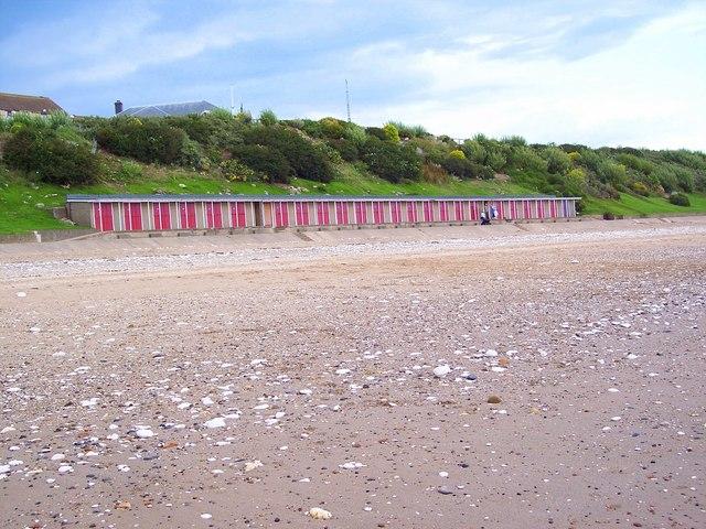 Beach Huts, North Sands, Bridlington