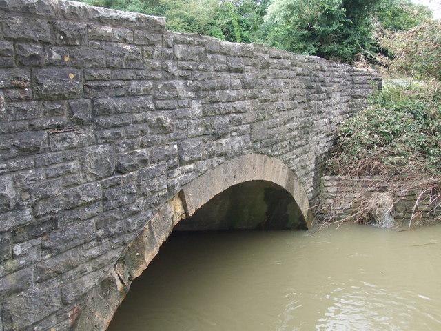 Upstream bridge face