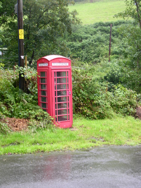 Telephone box, Aber-Cywarch