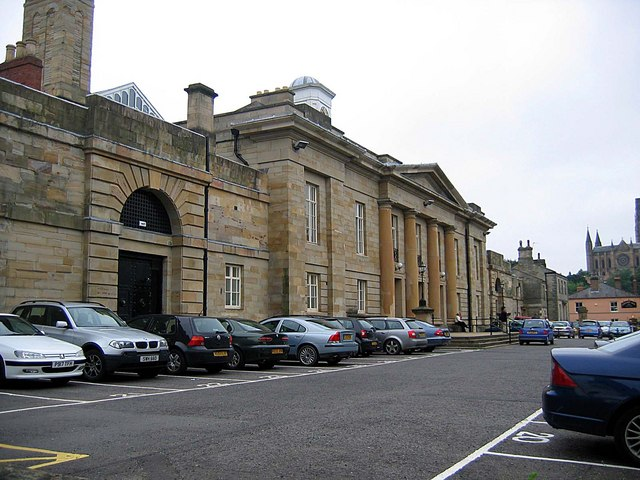 Durham Jail - front entrance