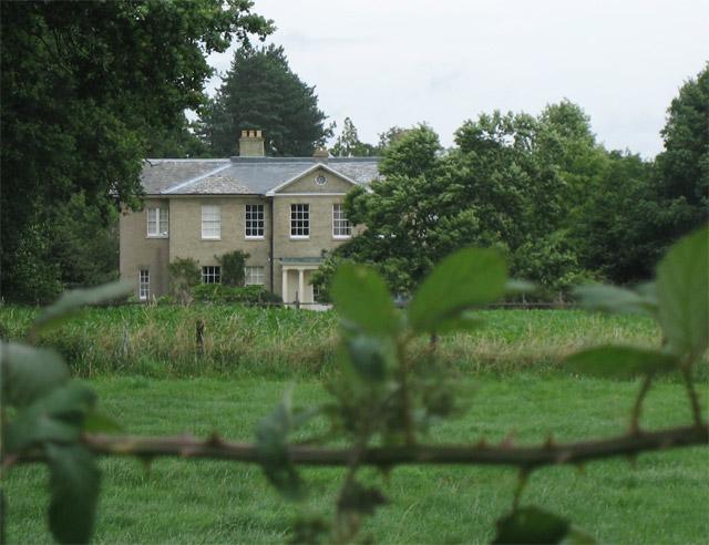 Aldborough Hall from Matlaske - Aldborough Road