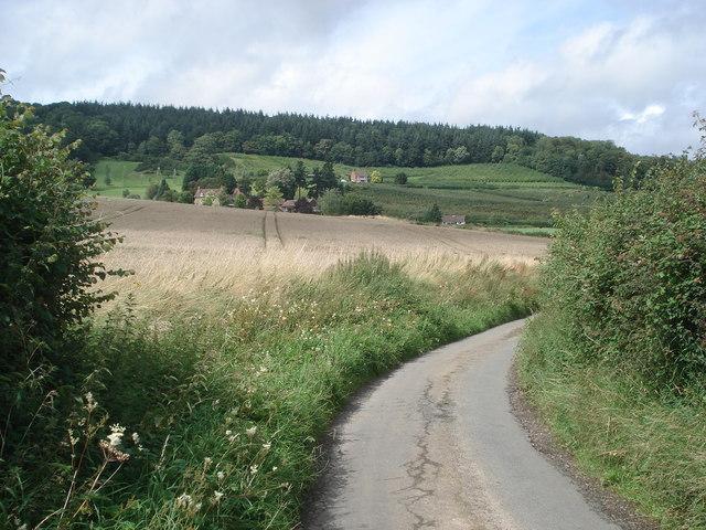 Farmland near Green House