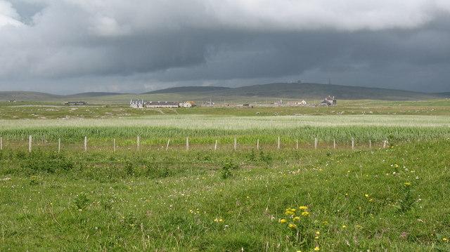 Machair and marsh.