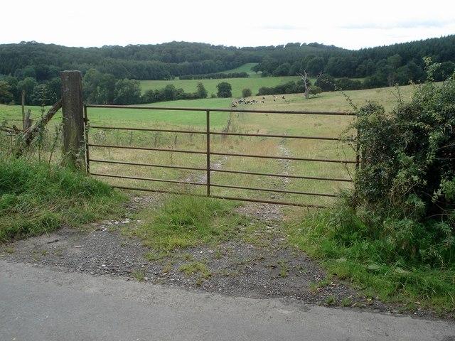 Farmland at Woolhope Cockshoot
