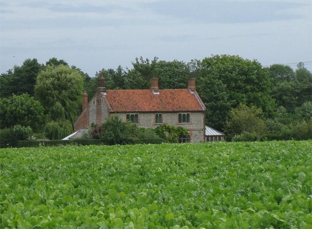 Old House (rear) on edge of Aldborough