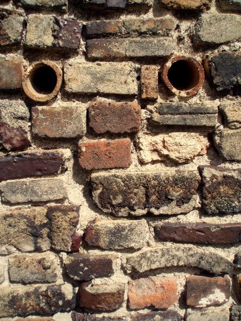 Wall at Bovey Pottery