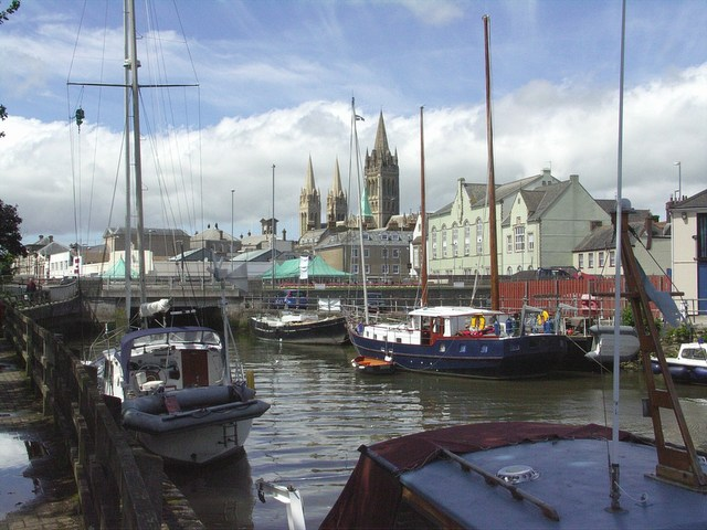 Truro from the River