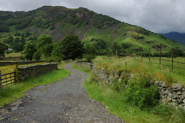 Track in Great Langdale